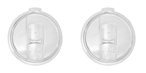 RTIC Spill Proof & Splash Resistant Lid for Yeti Rambler & Tumbler, 30 oz, 2 Piece