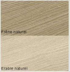 linea oggi Estante de radatiador melaminado, color natural, 15 x 100 cm, 2 cm