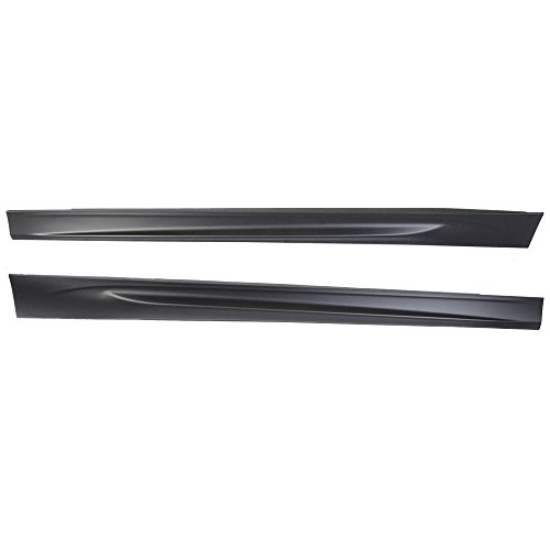 Side Skirts Compatible With 2006-2011 BMW E90 E91 | 3-Series Sedan M-Tech Msport M3 Style Side Skirt Body kit Pair PP by IKON MOTORSPORTS | 2007 2008 2009 2010