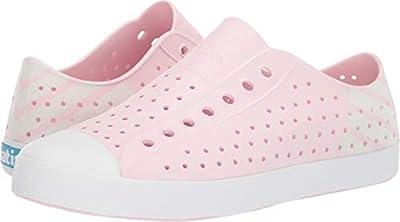 Native Shoes Unisex Jefferson Blossom Pink/Shell White/Shell White Glow Block 13 Women / 11 Men M US