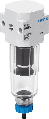 FESTO 526308 LF-QS6-D-5M-MICRO-H FILTER - SUPPLIED IN PACK OF 1