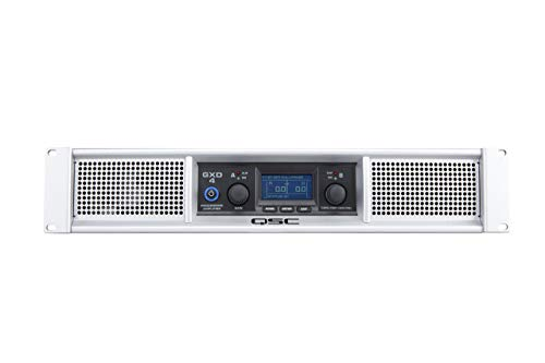 QSC GXD4 Class D Power Amplifier with DSP (Renewed)