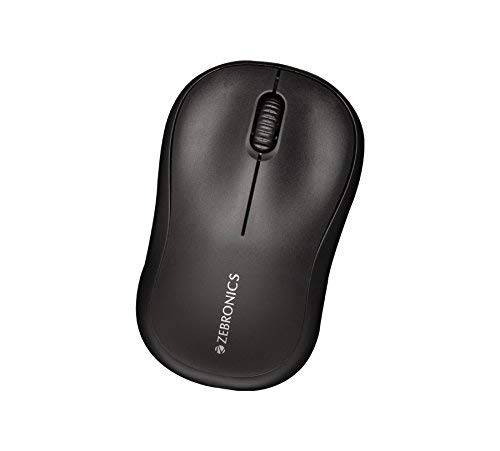 Renewed  Zebronics Zeb Comfort USB Optical Mouse Mice