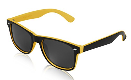 Yellow Sunglasses for Women and Men Designer - Glass Rayband