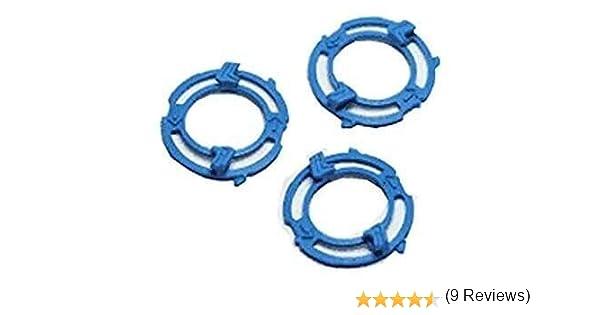 3pc Lock ring (placa de sujeción, titular) compatible para Philips ...