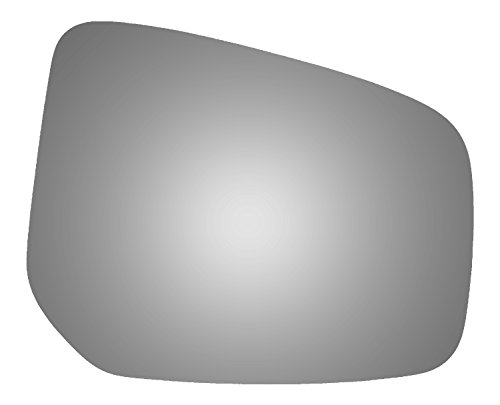 Burco 5651 Convex Passenger Side Replacement Mirror Glass for Mitsubishi Mirage, Mirage G4 (2014, 2015, 2016, 2017)