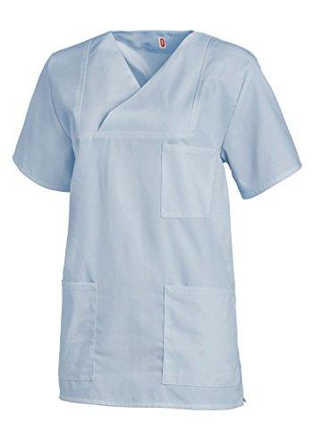 Maglietta Manica Unisex 1 Azzurro Leiber Bianca 2 dv4qI