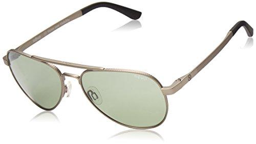 Revo Zifi Sunglasses, Gunmetal Frame, Custom Green 58mm Lenses, part of the Vision Over Visibility ()