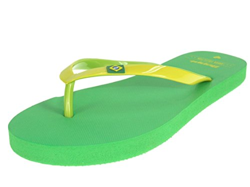 Beppi - Sandalias de Material Sintético para mujer Amarillo - verde/amarillo
