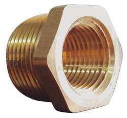 Brass 1//2 x 3//8 In PK10 Industrial Grade 6AYW9 Pipe Bushing