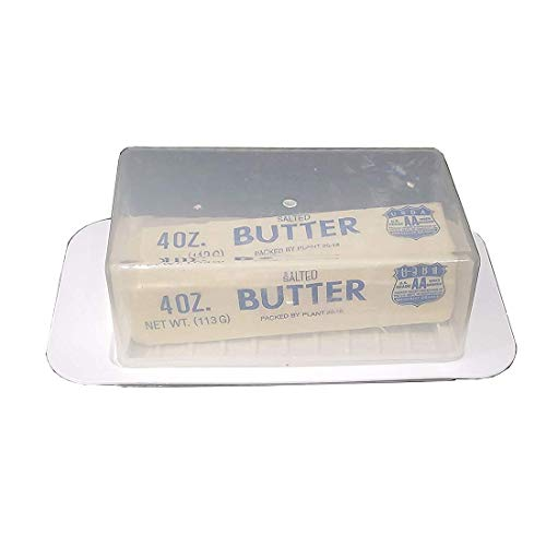 (Inexpensive Standard Butter Dish, Butter Keeper Holds 1 Stick of Butter)