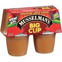Musselmans Cinnamon Apple Sauce, 24 Ounce -- 12 per case.