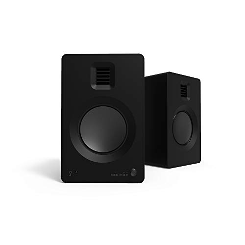"Kanto TUK Powered Speakers with Headphone Out, Built-in USB DAC, Dedicated RCA with Phono Pre-amp, Bluetooth 4.2 with aptX HD & AAC | AMT Tweeter and 5.25"" Aluminum Driver 