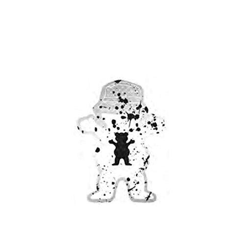 【GRIZZLY】グリズリー2017春夏 Boo Johnson Splatter Sticker ステッカー 約12.7cm X 約9.2cm