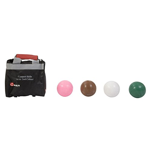 Uber Games Composite Croquet Ball Set - 2nd Color - 16oz by Uber Games
