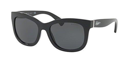 Ralph Lauren RA5234 137787 Black RA5234 Square Sunglasses Lens Category 3 - Sunglasses Lauren Ralph 3