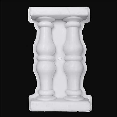 Concrete Column Mold - Tanchen Roman Column Mold Plastic Mould for Concrete DIY Craft Home Garden Ornament Decor