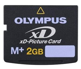 NEW 2gb Xd Picture Memory Card Type M+ for Olympus & Fuji Cameras by Olympus