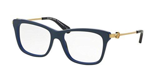 Michael Kors ABELA IV MK8022 Eyeglass Frames 3134-52 - Navy/cobalt - Blue Cobalt Eyeglasses