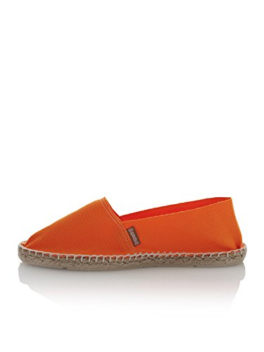 Mixte Fluo 100 Espadrij Espadrilles Orange Adulte zwxTzFSq