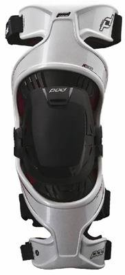 POD Unisex-Adult K300 Knee Brace (White/Red, X-Large)