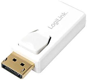 Logilink Cv0057 Displayport Zu Hdmi Adapter Mit Computer Zubehör