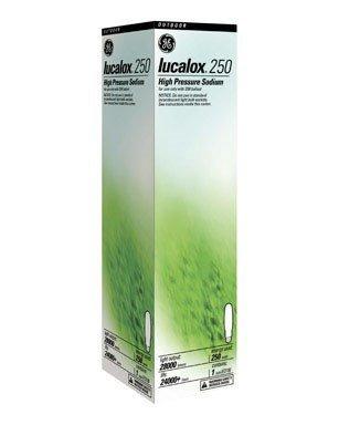 Ge High Pressure Sodium Bulb Lucalox 250 W 9.75 In. Mogul 2100 K 22 Cri