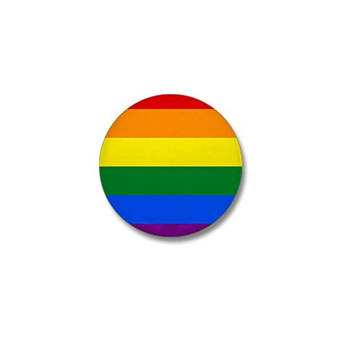 CafePress - Rainbow Gay Pride Flag Mini  - Pride Rainbow Button Shopping Results