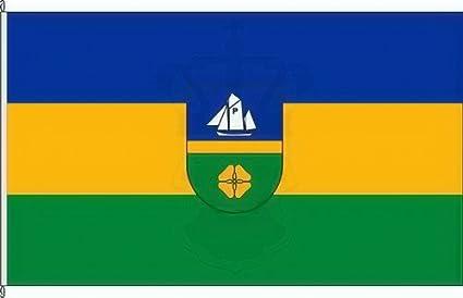 Flagge Fahne Seevetal Hissflagge 90 x 150 cm