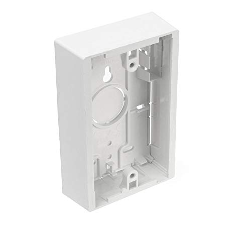 Commscope 6644 2 017-01 | 66442017-01 1-Port 1-Gang Unloaded Surface Mount Box (Pack of 25) ()