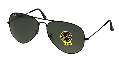 Ray-Ban Men's 3026 L2821 Aviator, 62-mm, - Rb3026 Black