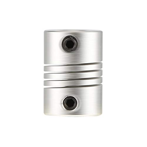 Uqingbao 6x6mm CNC Motor Jaw Shaft Coupler 6mm to 6mm Flexible Coupling OD 16x23mm ()