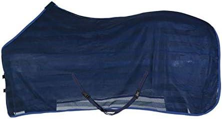 PFIFF 102309–20–145–Manta antimoscas Caballo–brimfly de–Manta para Caballo, Talla única, Color Azul