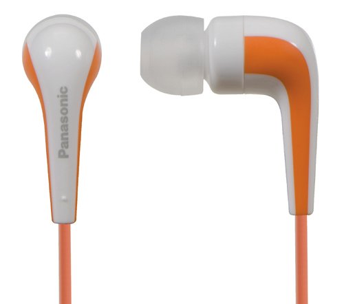 Panasonic RP HJE140 D L shaped Earbud Headphone