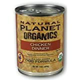 Chicken Wet Dog Food (13-oz, case of 12) by Natural Planet Organics