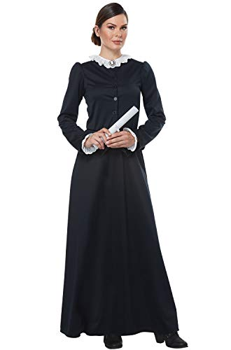 California Costumes Women's Susan B. Anthony - Harriet Tubman - Adult Costume Adult Costume,  -black/White, X-Small -
