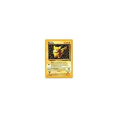 Pokemon Card - Black Star Promo #1 - PIKACHU: Toys & Games