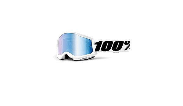 Adultos Unisex Negro 100 Percent STRATA 2 Goggle Upsol-Clear Lens ESTANDAR