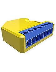 Shelly RGBW2 Wireless Blue, yellow - Shelly RGBW2, 2400 2500, -10-50 °C, Wireless, 802.11b,802.11g,Wi-Fi 4 (802.11n), Blue, yellow, CE