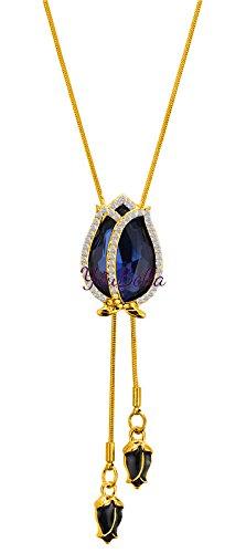 Buy youbella fashion jewellery stylish pendants for girls with long youbella fashion jewellery stylish pendants for girls with long chain pendent party western wear necklace for aloadofball Gallery