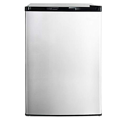 zwan 3 cu.ft. Compact Upright Freezer with Stainless Steel Door with Ebook