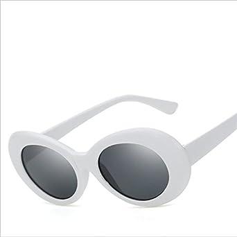 a2c714c25f 2017 Superhot Eyewear - Retro Vintage Oval Round Sunglasses Men Women Alien Sunglasses  NIRVANA Kurt Cobain