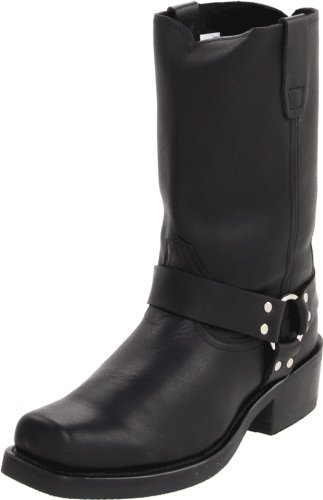 "Durango Men's DB510 11"" Harness Boot Oiled Black 8 D - Medium"