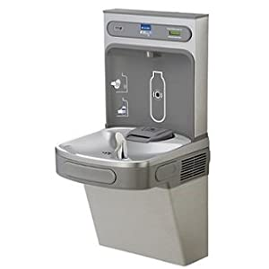 Ezh20 Single Water Bottle Refilling Station Non-Refrigerated, Light Gray
