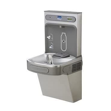 Elkay EZSDWSLK Standard EZH2O Drinking Fountain Wall Mount