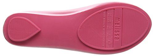 Vivienne Westwood E Melissa Vivienne Westwood Melissa & Damen Vw Ultragirl 18 Appartamenti Chiuso-punta Rosa (pink)