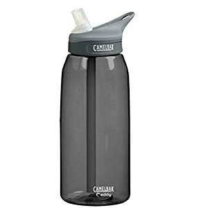 Camelbak eddy Bottle 1L 32oz CHARCOAL CAMELBAK EDDY WATER BOTTLE BPA FREE