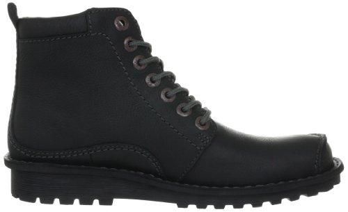 Clarks Manly Camaro 203510897 Herren Boots Schwarz (Black Wlined Lea)