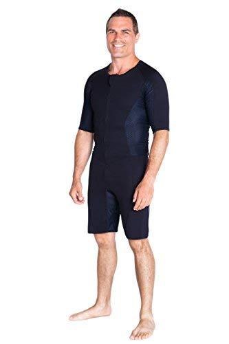 Kutting Weight Neoprene Weight Loss Men's & Women's Sauna Suit (Black, 5XL) by Kutting Weight (Image #3)