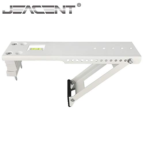 Jeacent Universal AC Window Air Conditioner Support Bracket Light Duty, Up to 85 lbs (Best Casement Window Air Conditioner)